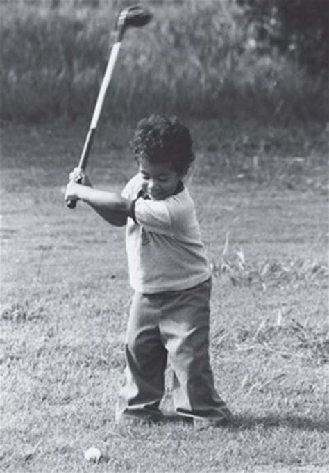 swing form baby tiger woods nice form golf pinterest posts