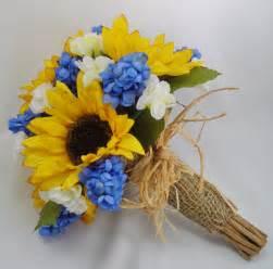 sunflower bouquet sunflower bridal bouquet fft original design by flowersforthought