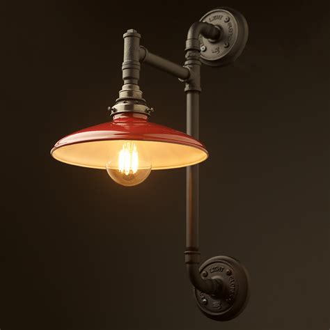 Twin Wall Mount Pipe Light Shade Clear Lights