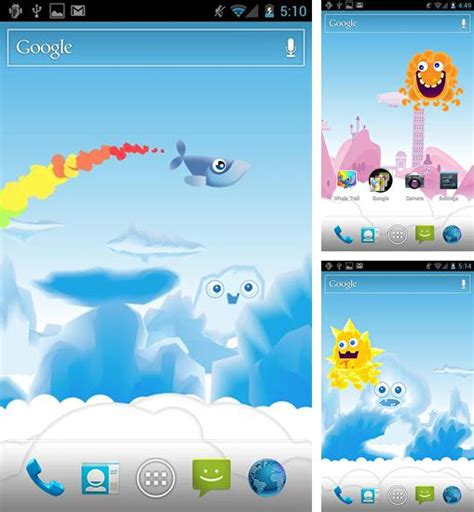 whale trail apk android live wallpaper f 252 r android 5 1 1 handy kostenlos