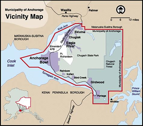 Municipality Of Anchorage Property Records Maps