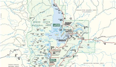 grand teton national park map official grand teton national park map pdf my