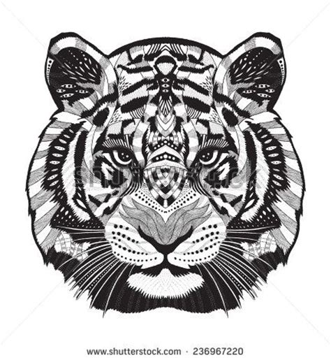 tiger mandala coloring pages 1000 ideas about tiger on tiger