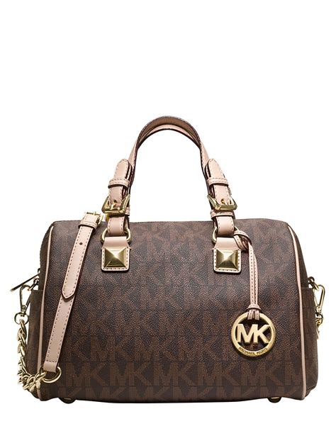Gryson Shoulder Bag 2 by Michael Michael Kors Grayson Leather Monogram Shoulder Bag