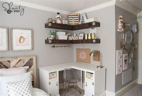 Floating Corner Shelf Plans by Diy Floating Corner Shelves Shanty 2 Chic