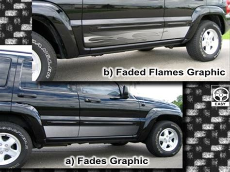 Jeep Liberty Rocker Panel Jeep Liberty Grapics