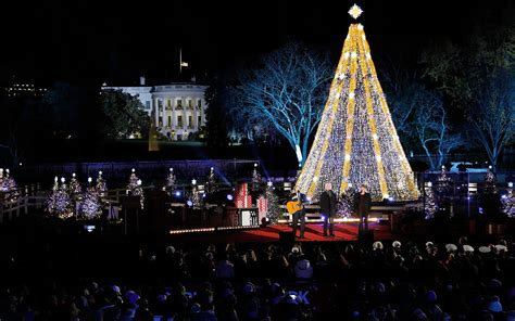 national tree lighting 2016 how to the national tree lighting at the