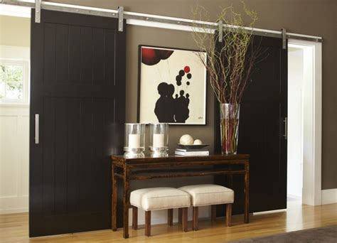 eye for design decorate with sliding barn doors
