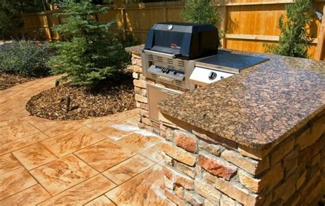 outdoor kitchen countertops ideas outdoor kitchen parker co photo gallery landscaping