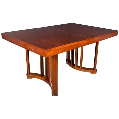 dining room tables with extensions art deco extension dining table in mahogany with opposing