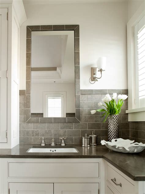 Grey And White Bathroom Ideas by White And Gray Bathroom Design Ideas