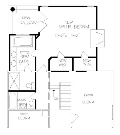house plans with master suite on second floor new family room master suite kfbr3 6236 the house designers