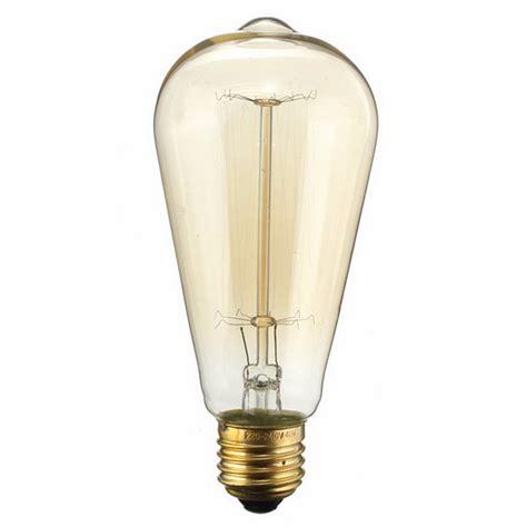 tungsten light bulbs for photography e27 40w st58 vintage edison tungsten filament warm