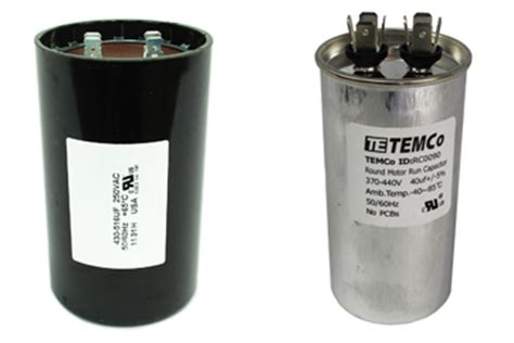 start capacitor run vs starting capacitor differences explained