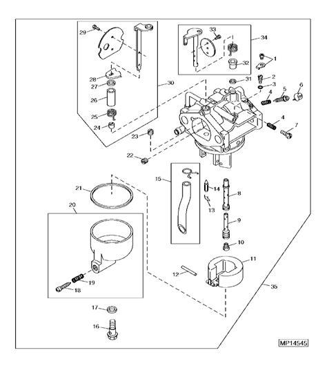 Deere Lx277 Carburetor Diagram