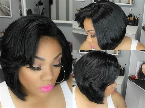 How To Cut Black Hair In A Bob | how to cut a bob video black hair information