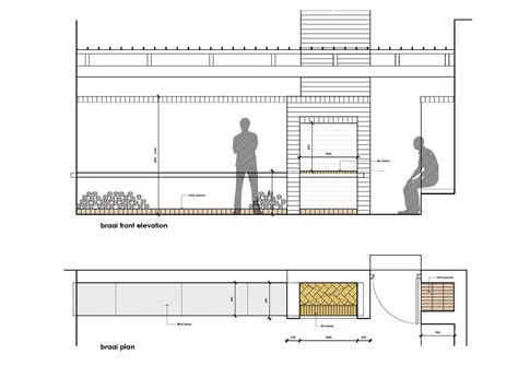One Level Floor Plans by Building A Braai Chit Chat Bike Hub
