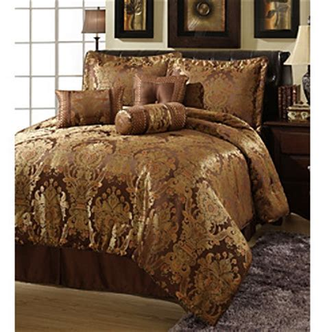 revello 7 pc comforter set by central park queen and