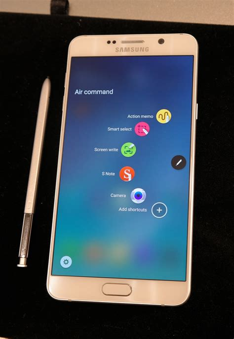 Samsung Galaxy Note5 samsung galaxy note5 on preview