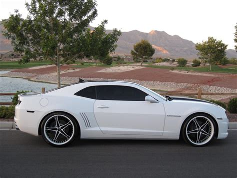 2010 camaro aftermarket aftermarket rims on summit white let s see them