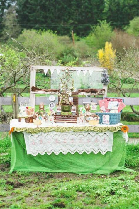 Kara's Party Ideas Vintage Spring Easter Picnic Party