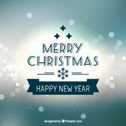 merry christmas happy new year 2015 vector free download