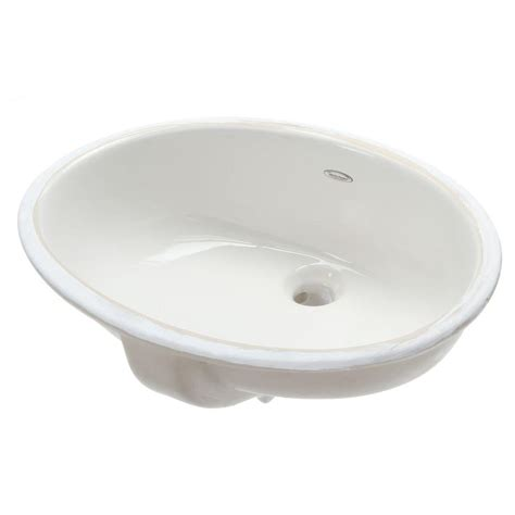 american standard undermount bathroom sinks american standard ovalyn undermount bathroom sink in white