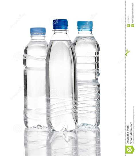 Water Plastic Bottle Stock Images Image: 21279974