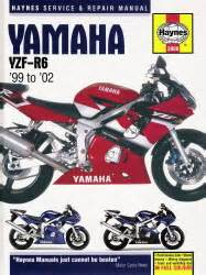 1999 2002 Yamaha Yzf R6 Haynes Repair Manual