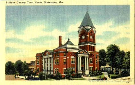 bulloch county court house statesboro ga