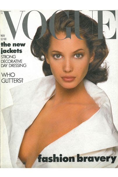 Turlington In V Magazine by Turlington News And Features Vogue