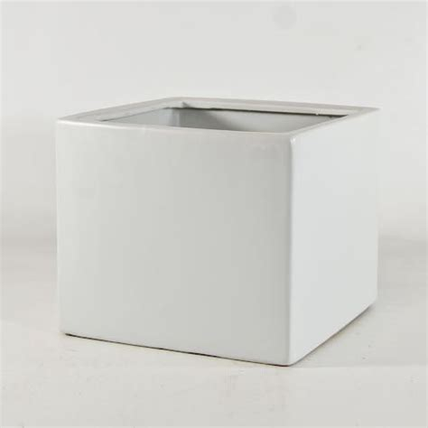 White Square Planter Pots by 7 189 Quot Matte Ceramic Planter Measuring 6 188 Quot And 7 189 Quot X7 189 Quot Wide Blooms Rentals