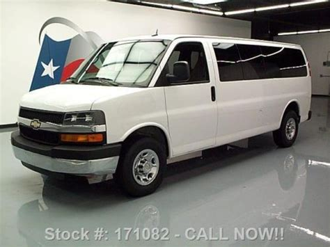 automotive air conditioning repair 2011 chevrolet express 3500 user handbook sell used 2011 chevy express lt 3500 extended 15 passenger 25k mi texas direct auto in stafford