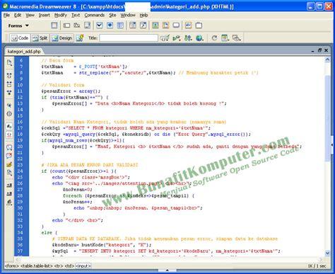 tutorial e commerce aplikasi toko online penjualan spare web penjualan komputer online