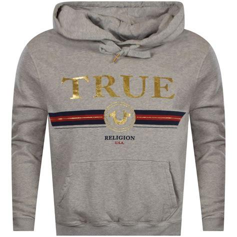 Sweater Hoodie Chion C Logo Grey Premium true religion true religion grey gold stripe logo pullover