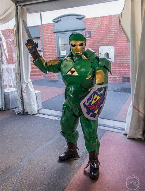 iron man link iron link cosplay nerd reactor