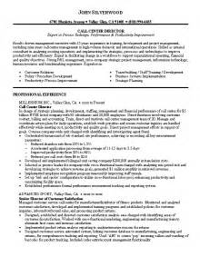 Resume Sles For Call Center call center resume whitneyport daily
