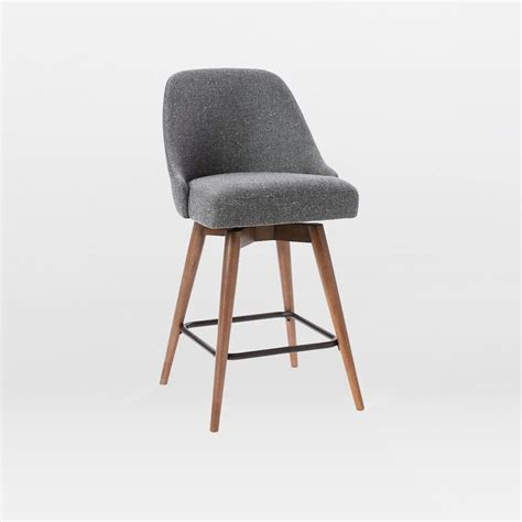 Century Furniture Bar Stools by Mid Century Swivel Bar Stool West Elm Australia