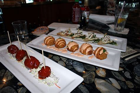 lazy happy hour a mini food festival of happy hour appetizers at lazy cafe torrance south bay