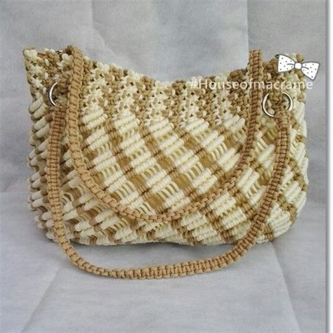 How To Make Macrame Bags - macrame purse