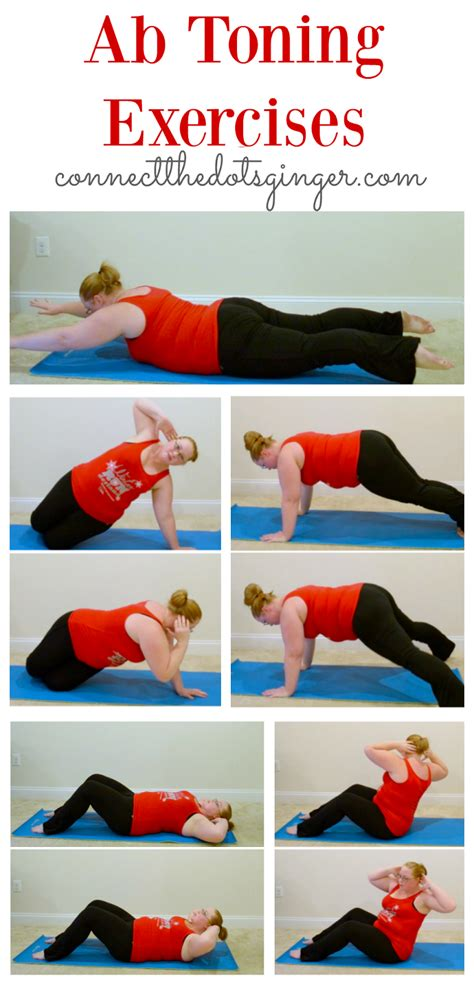 connect the dots becky allen plus size fitness ab toning exercises