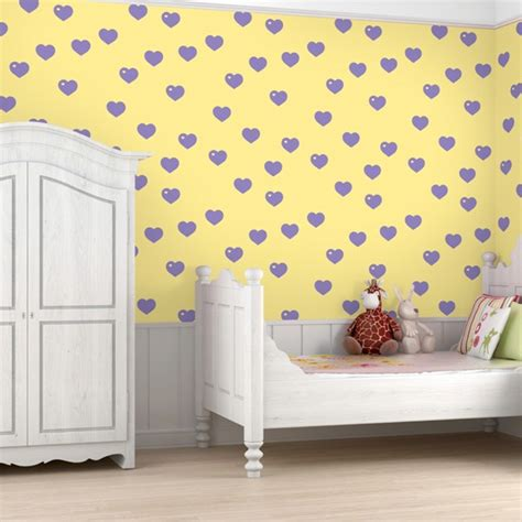 yellow bedroom wallpaper yellow room wallpaper with royal blue apples pattern