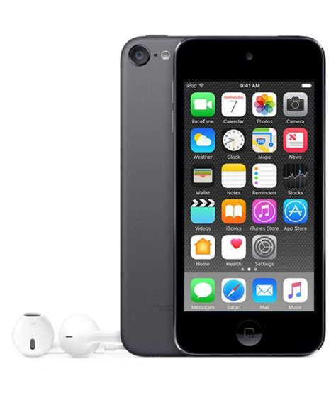 Ipod Touch 6 4 apple ipod touch 6th generation ipod quot quot grey quot quot quot quot available at snapdeal for rs 18899