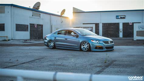 stanced volkswagen stanced volkswagen passat cc r line is a vip beauty