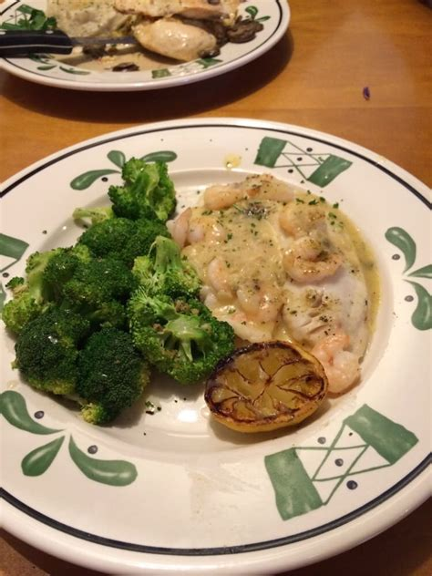 baked tilapia with shrimp and broccoli yelp