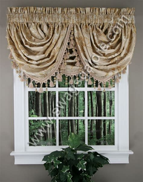 waterfall curtain valance 22 best images about ascot valance on pinterest window