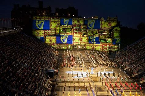 tattoo equipment edinburgh projection studio takes jubilee spirit to edinburgh tattoo
