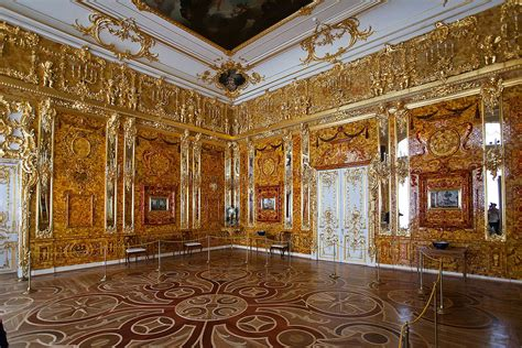 le salon dambre folio salon d ambre du palais catherine 224 saint p 233 tersbourg flickr