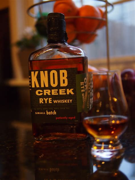 Knob Creek 100 Proof Review by Whiskey Obsessive Knob Creek Rye Review