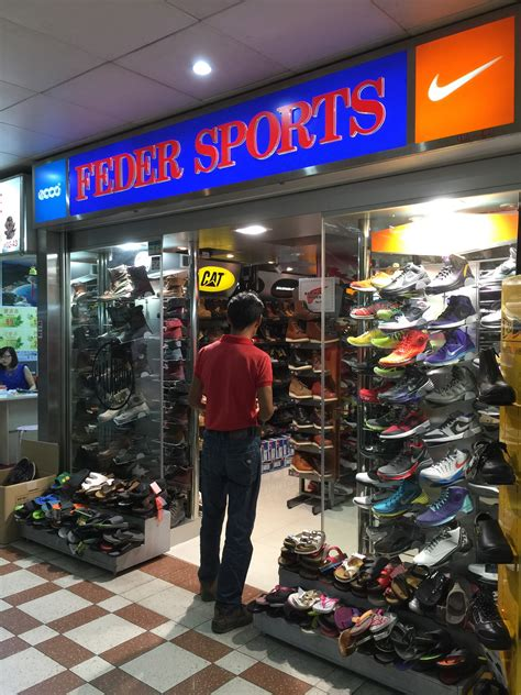 feder sports popular place for sports shoes inside